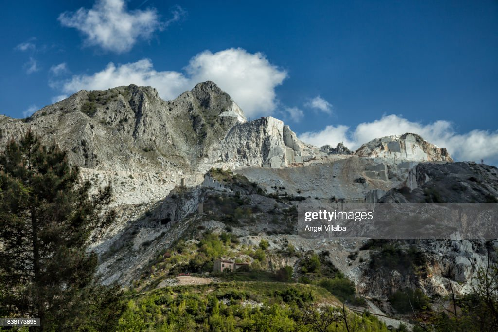 Carrara Marble Quarry Stock Photo - Getty Images