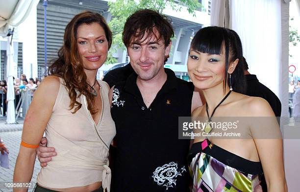 Carre Otis Alan Cumming and Bai Ling during Force of Nature Concert for Tsunami Aid Arrivals at Mandarin Oriental Hotel in Kuala Lumpur Malaysia
