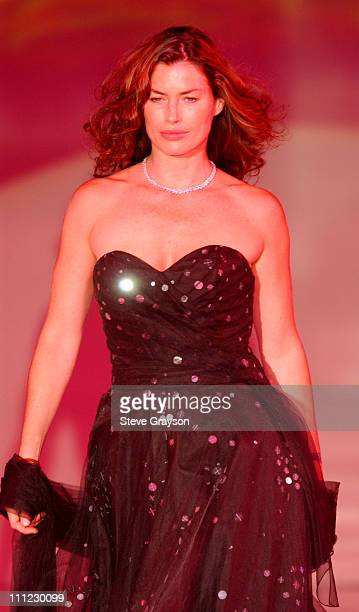 Carre Otis during Runway For Life Fashion Show to Benefit St Jude Children's Research Hospital Show at The Beverly Hilton Hotel in Beverly Hills...