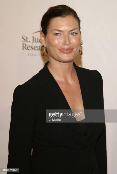 Carre Otis during St Jude Runway for Life at Beverly Hilton in Beverly Hills California United States