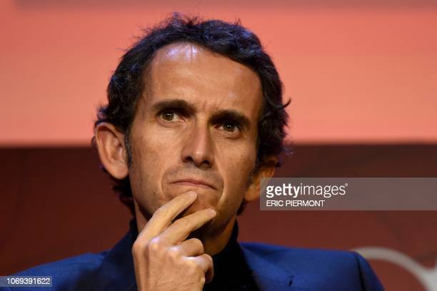 Carrefour's CEO Alexandre Bompard attends a session at the '5th Economy Summit' event organised by Challenges in Paris on December 6 2018