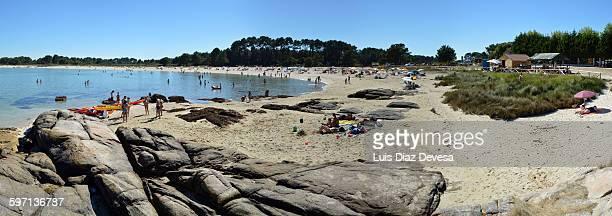 Carreiron natural park's beach
