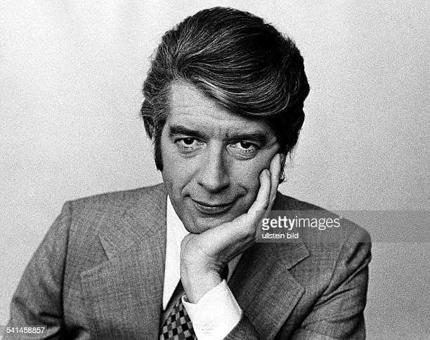Carrell Rudi *Showmaster Schauspieler Niederlande Portrait 1973