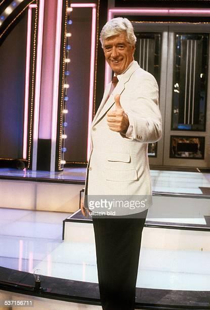 Carrell Rudi Showmaster Schauspieler Niederlande Portrait 1990