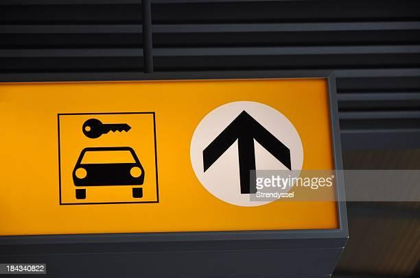 Carrental sign