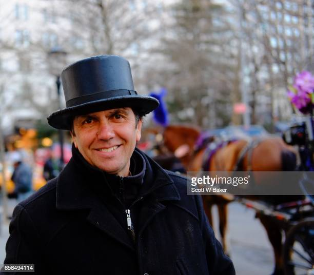 Carriage Driver Tino at Central Park