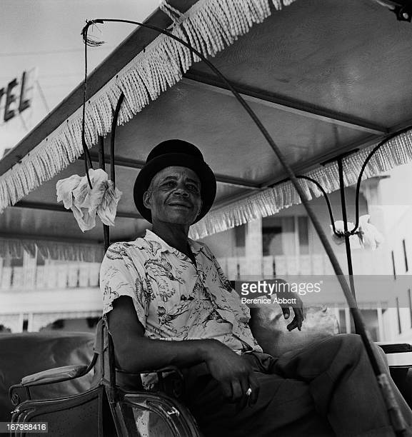 A carriage driver USA 1954