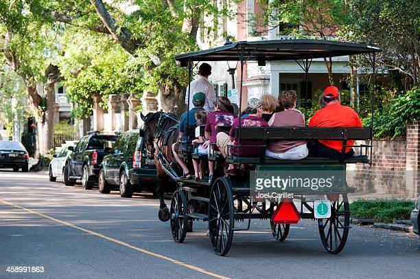 Carriage tour in Charleston, South Carolina