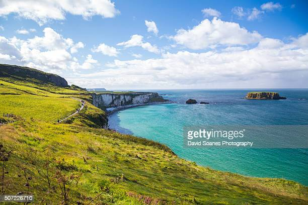Carrick-a-rede at the Causeway Coastal Route, Antrim, Northern Ireland