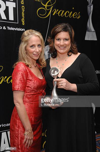 Carrie Aizley and Christen Sussin of 'Campus Ladies' winners for Outstanding Television Comedy