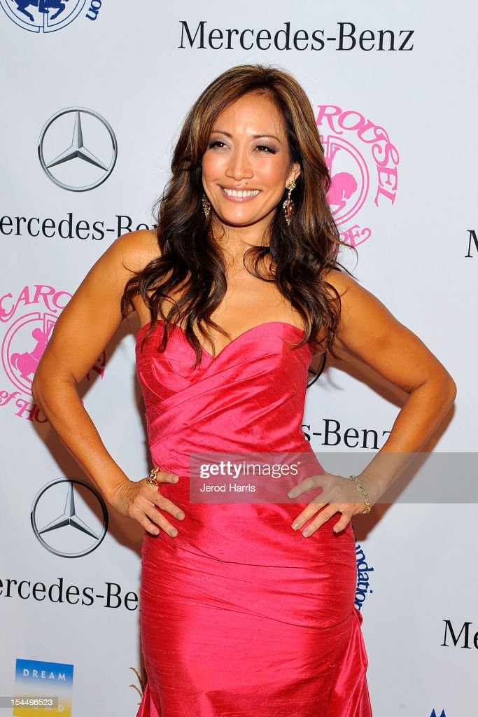 Carrie Ann Inaba arrives at Mercedes-Benz presents The Carousel Of Hope on October 20, 2012 in Los Angeles, California.