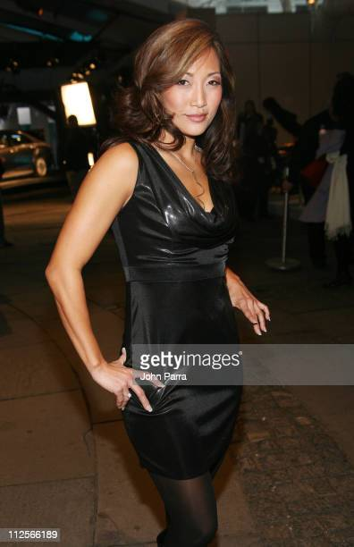 Carrie Ann Inaba at Bryant Park during MercedesBenz Fashion Week Fall 2008 on February 5 2008 in New York City