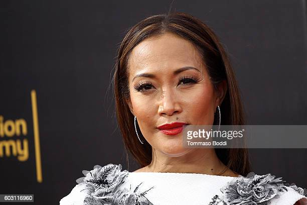 Carrie Ann Inaba attends the 2016 Creative Arts Emmy Awards held at Microsoft Theater on September 11 2016 in Los Angeles California