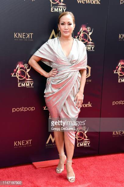 Carrie Ann Inaba attends the 46th annual Daytime Emmy Awards at Pasadena Civic Center on May 05 2019 in Pasadena California