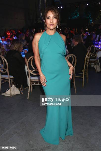 Carrie Ann Inaba attends The Humane Society Of The United States' To The Rescue Los Angeles Gala at Paramount Studios on April 21 2018 in Los Angeles...