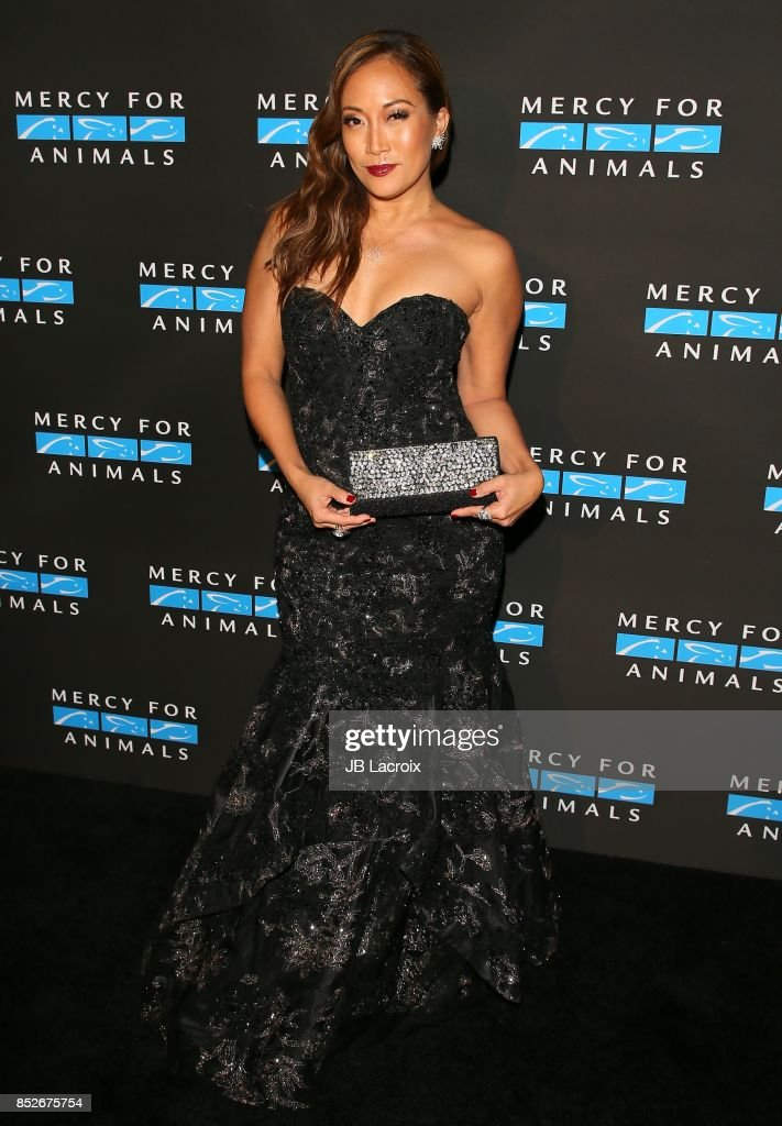 Carrie Ann Inaba attends the Mercy For Animals' Annual Hidden Heroes Gala on September 23, 2017 in Los Angeles, California.