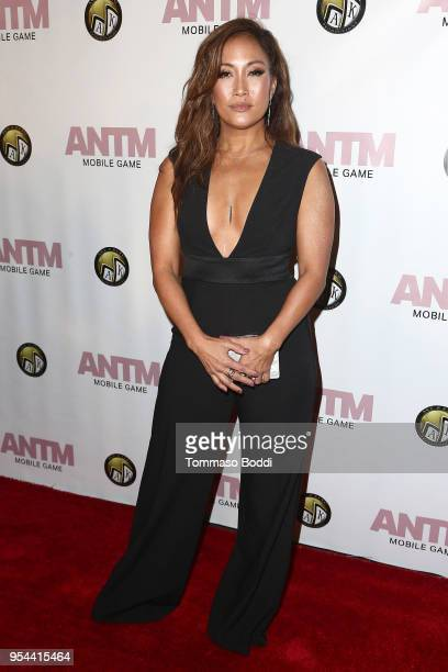 Carrie Ann Inaba attends the Tyra Banks And Ace King Productions Celebrate The Release Of The 'America's Next Top Model' Mobile Game at Avalon on May...