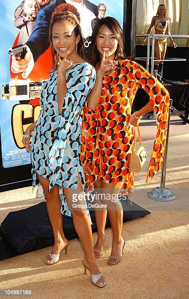Carrie Ann Inaba Diane Mizota during 'Austin Powers In Goldmember' Premiere at Universal Amphitheatre in Universal City California United States