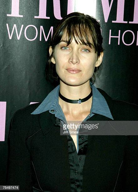Carrie Ann Moss at the The Four Seasons Hotel in Beverly Hills California