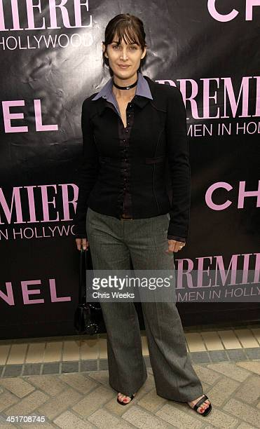 Carrie Ann Moss during 9th Annual Premiere Women in Hollywood Luncheon at Four Seasons Hotel in Beverly Hills California United States
