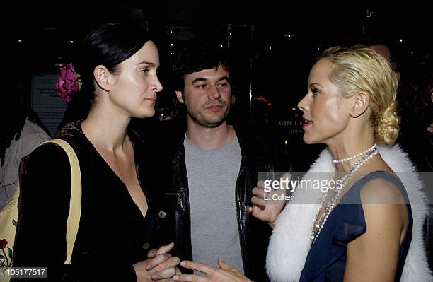 "Carrie Anne-Moss, Steven Roy and Maria Bello during ""The Cooler"" - Los Angeles Premiere - After Party at The Egytian Theater in Hollywood,..."