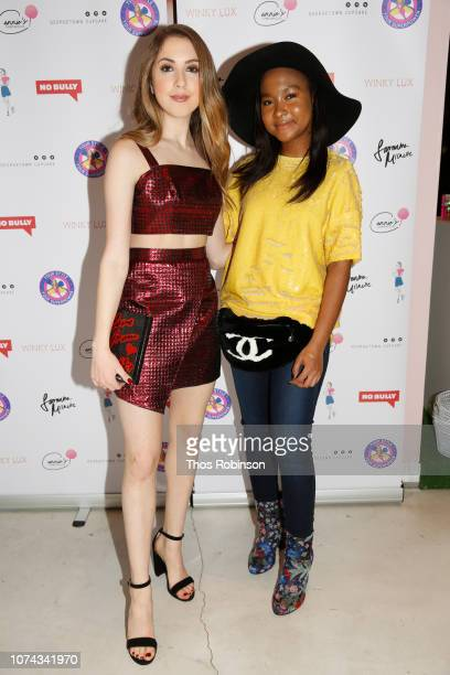 Carrie Berk and Donshea Hopkins attend Carrie Berk Carrie's Chronicles Relaunch at Winky Lux on December 17 2018 in New York City