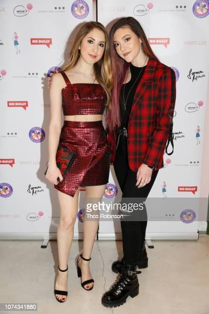 Carrie Berk and Taylor Felt attend Carrie Berk Carrie's Chronicles Relaunch at Winky Lux on December 17 2018 in New York City