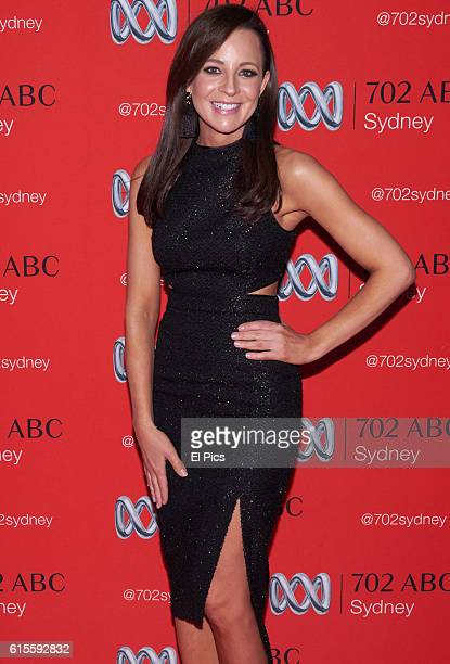 Carrie Bickmore attends the 2016 Andrew Olle Media Lecture on October 14 2016 in Sydney Australia