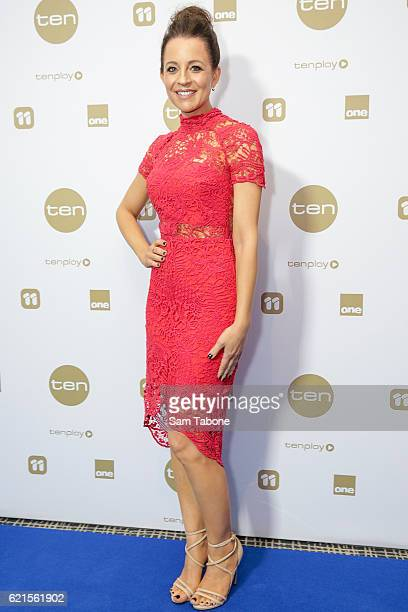 Carrie Bickmore during Network Ten 2017 Upfronts on November 7 2016 in Melbourne Australia