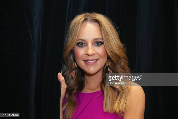 Carrie Bickmore poses during the Network Ten 2018 Upfronts on November 9, 2017 in Sydney, Australia.