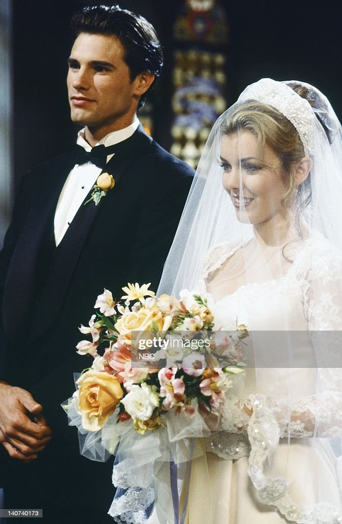 Lives Carrie Brady And Austin Reed 1st Wedding Attempt News Photo Getty Images