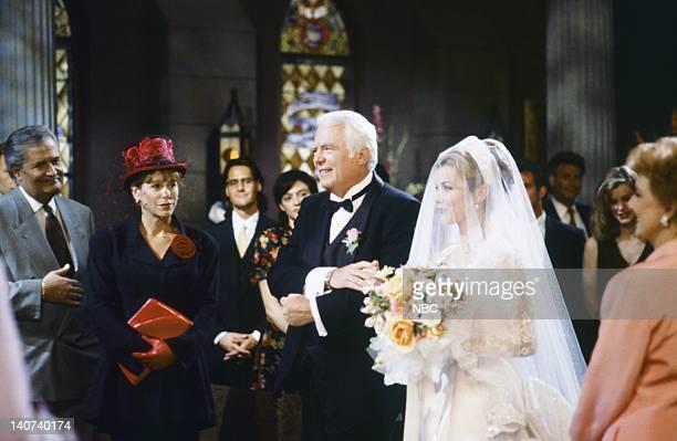 LIVES Carrie Brady and Austin Reed 1st Wedding Attempt Pictured John Aniston as Victor Kiriakis Louise Sorel as Vivian Kiriakis Frank Parker as Shawn...