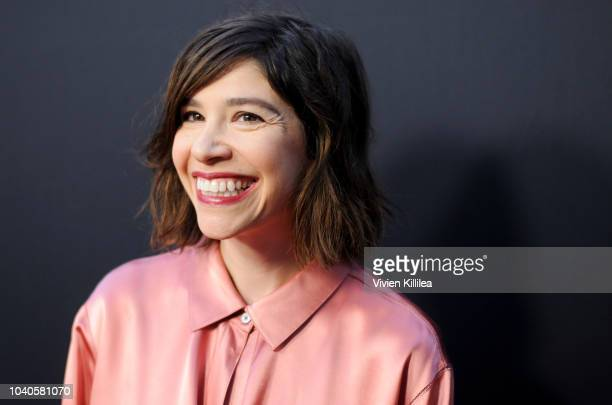 Carrie Brownstein attends LA Film Festival World Premiere Gala Screening Of THE OATH on September 25 2018 in Los Angeles California