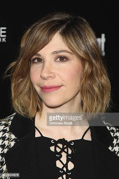 Carrie Brownstein attends the Entertainment Weekly's Celebration Honoring The 2016 SAG Awards Nominees held at Chateau Marmont on January 29 2016 in...