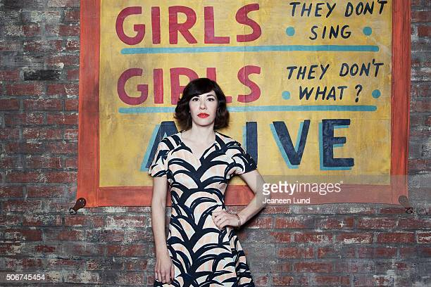 Carrie Brownstein is photographed for Out Magazine on November 17 2013 in Brooklyn New York