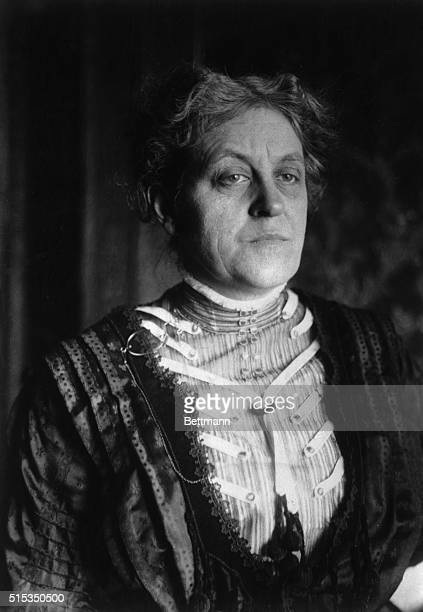 Carrie Chapman Catt American woman suffrage leader and lecturer Undated photograph