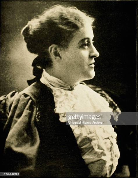 Carrie Chapman Catt Leader of Women's Suffrage Movement and Founder of League of Women Voters Portrait circ 1914