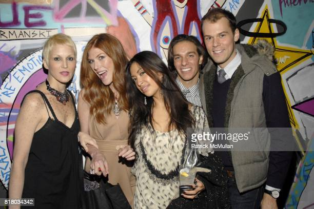 Carrie Cloud Annabel Vartanian Sylvie Cachay Jared Clark and Robert Fowler attend INTERVIEW 40th Anniversary In GOOD UNITS At Hudson Hotel at Good...