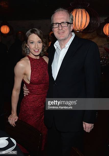 Carrie Coon and Tracy Letts attend The Leftovers premiere after party at TAO on June 23 2014 in New York City