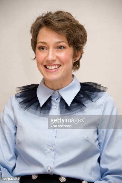 Carrie Coon at the 'Fargo' Press Conference at the Four Seasons Hotel on May 11 2017 in Beverly Hills California