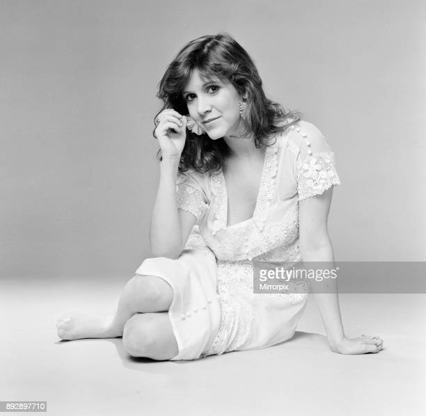 Carrie Fisher American actress in in the UK to coincide with the release of new film Star Wars Episode VI Return of the Jedi in which she plays the...