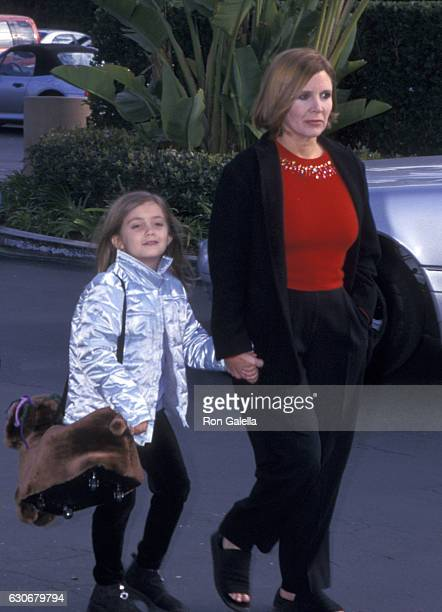 Carrie Fisher and Billie Lourd attend 'Snow Day' Premiere on January 29 2000 at the Paramount Theater in Hollywood California