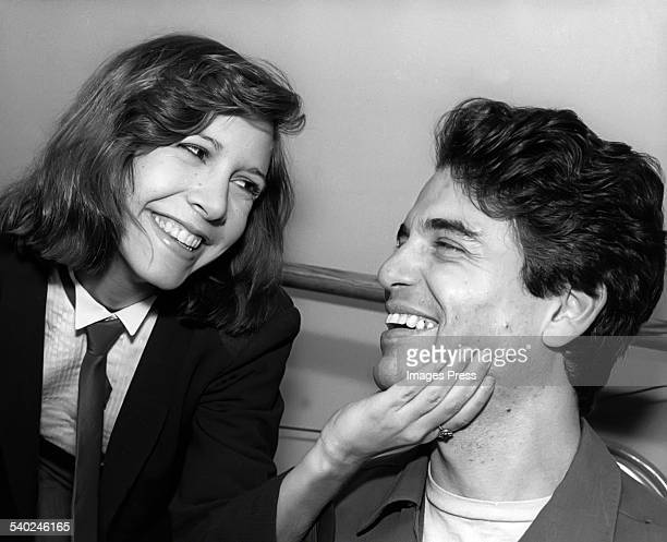 Carrie Fisher and Chris Sarandon circa 1980 in New York City