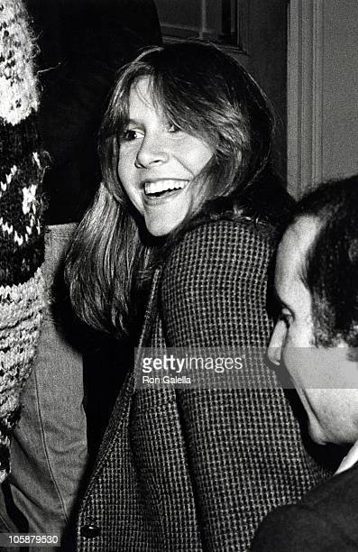 Carrie Fisher and Paul Simon during Steve Martin Opening October 11 1978 at Carnagie Hall in New York City New York United States