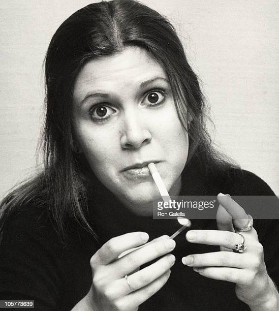 Carrie Fisher during Thanksgiving Party at Sibils November 21 1977 at Sibils in New York City New York United States