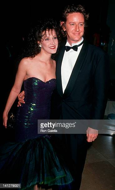 Carrie Frazier and Judge Reinhold at the 48th Annual Golden Globe Awards Beverly Hills Hotel Beverly Hills