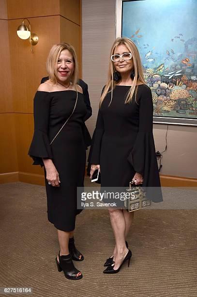 Carrie Gonzalez and Racquel Waters attend Underwater Dreams To Life In Color Art Exhibit Featuring Antonio Dominguez De Haro And Romero Britto At...