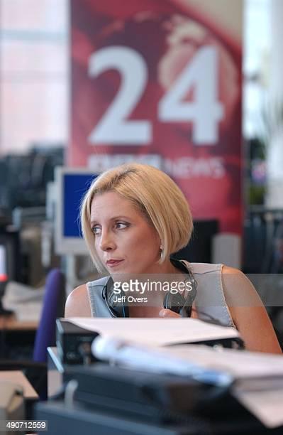 Carrie Gracie News 24 presenter