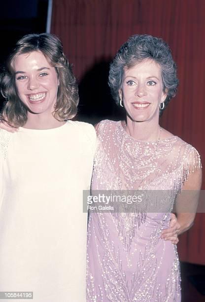 Carrie Hamilton and Carol Burnett during 6th Annual Kennedy Center Honors Gala, Honoring Elia Kazan at Kennedy Center in Washington D.C., Washington...