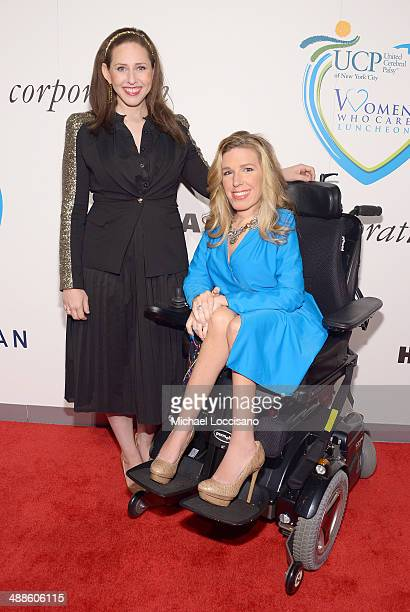 Carrie Hamilton and Miss Wheelchair New York Danielle Sheypuk attend the 13th annual Women Who Care event benefiting United Cerebral Palsy of New...